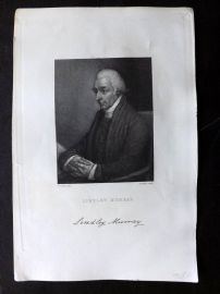 Gallery of Distinguished Americans C1835 Print. Lindley Murray